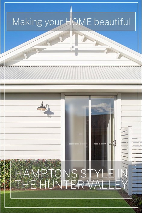 A quintessential Hamptons style home in the Hunter Valley
