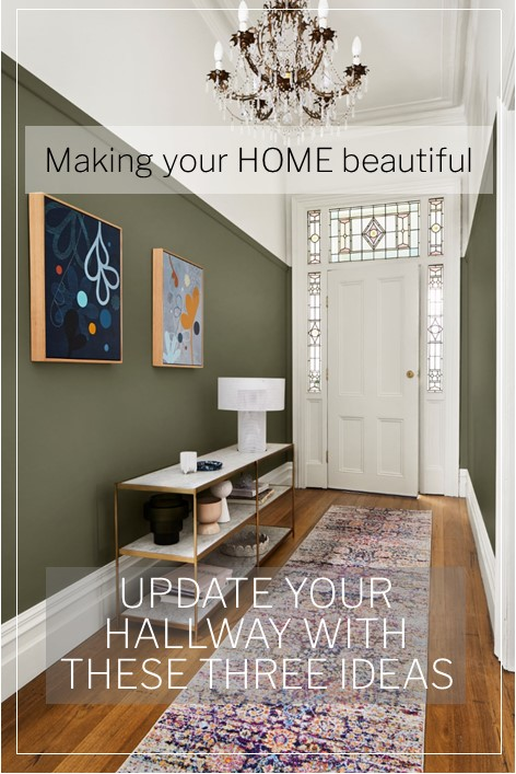 Update your hallway with these three looks