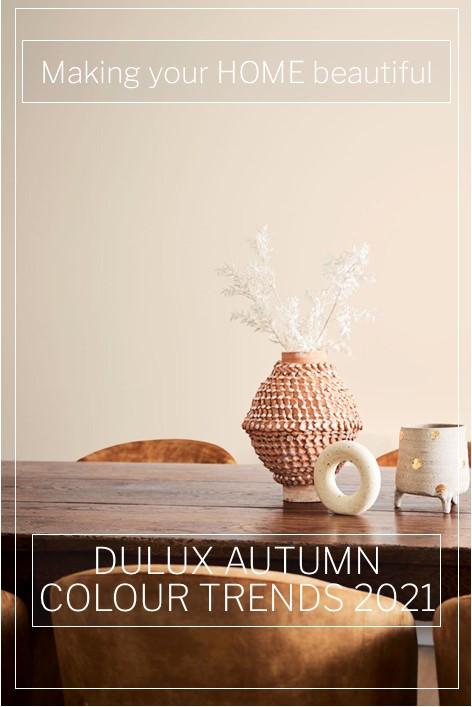 Dulux Autumn Colour Trends 2021