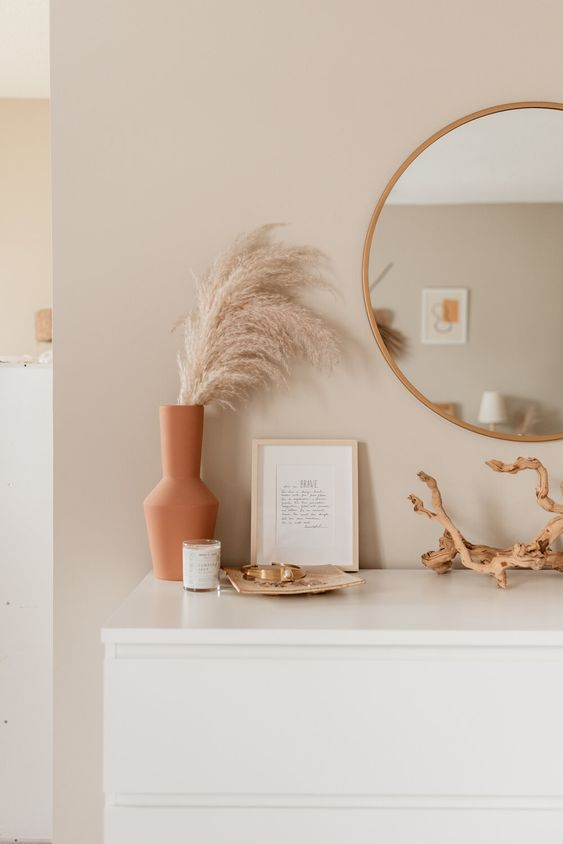 How to work with a nude colour palette