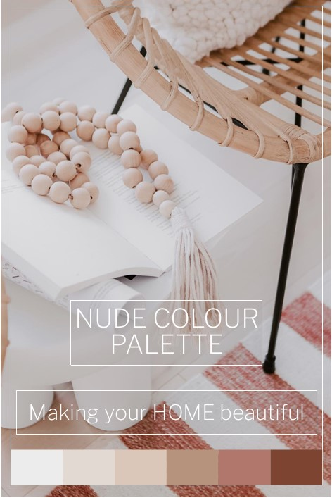 How to use a Nude Colour Palette