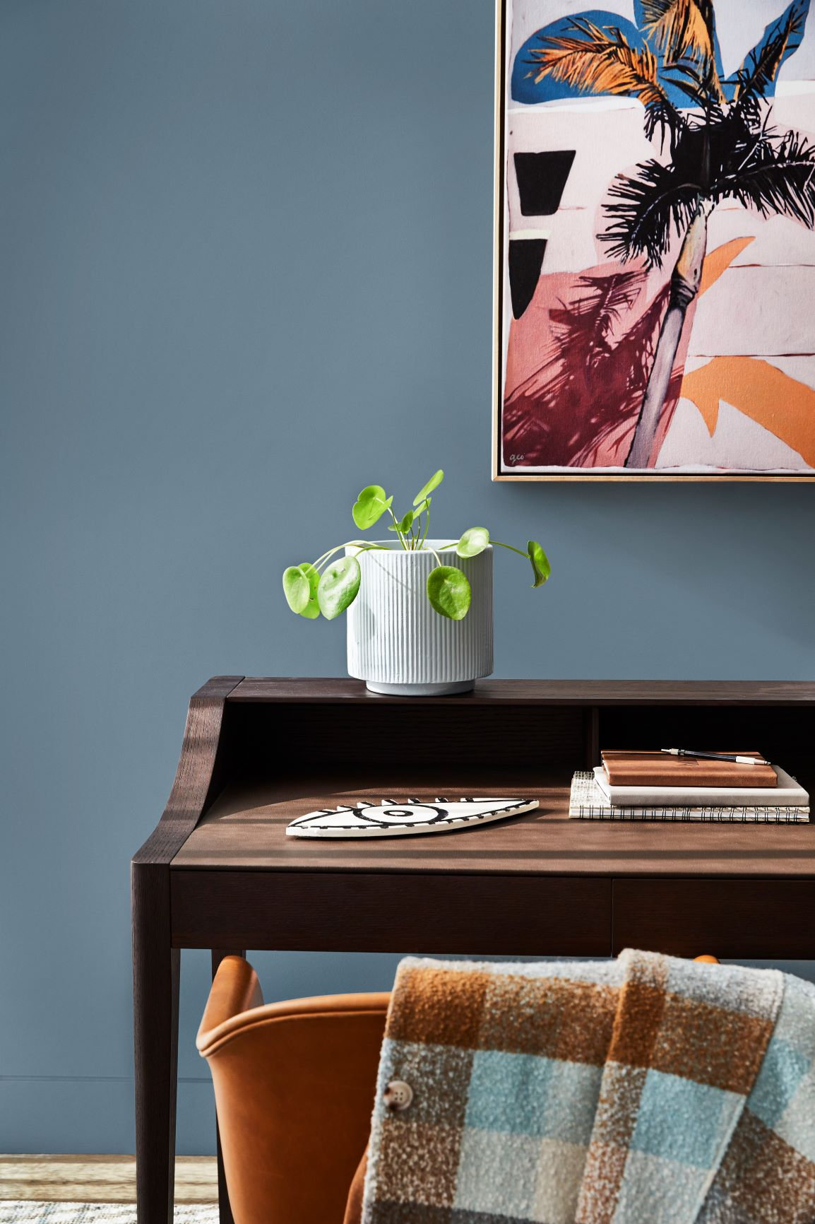 3 colour schemes for a home office