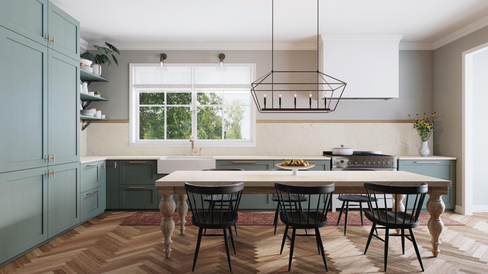 Trend Report - Grey and Oak interiors