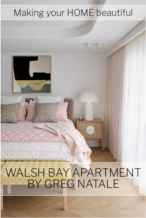 Walsh Bay apartment by Greg Natale