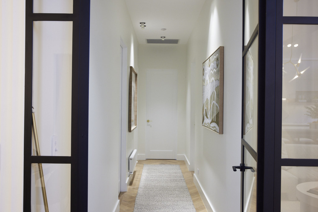 The Block Hallway and Laundry