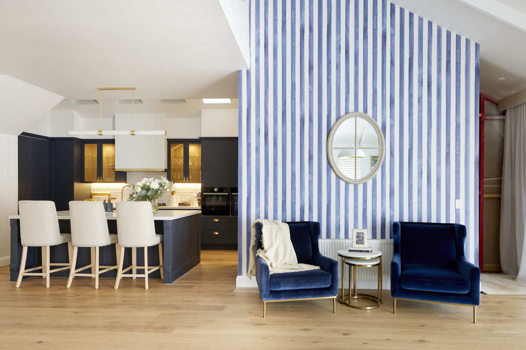 The Block 2021 Living and Dining Room